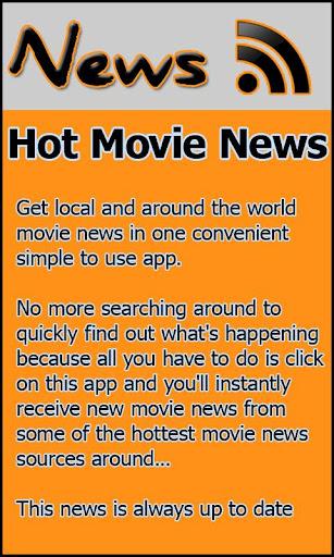 Hot Movie News