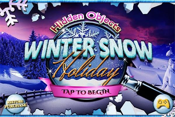 Hidden Objects Christmas Snow Winter Holiday Game - screenshot