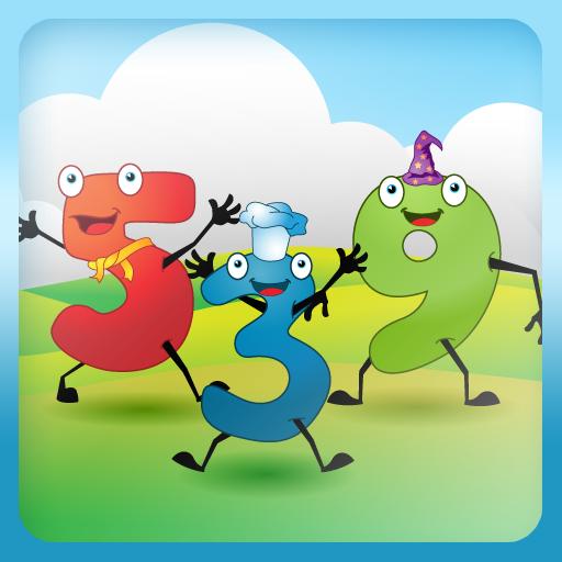 教育の子供たちが数字を学ぶ LOGO-記事Game