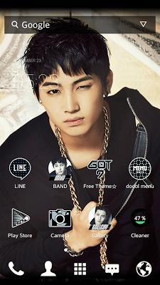 GOT7_JB dodol theme - screenshot