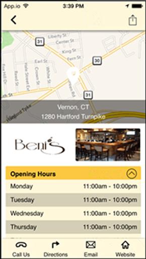 Beni's Hilltop Restaurants