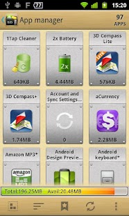 AppMgr III (App 2 SD) - screenshot thumbnail