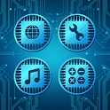 High-tech Atom Theme icon