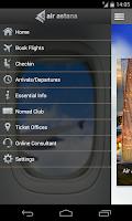 Screenshot of Air Astana