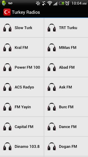 Turkey Radios Pro