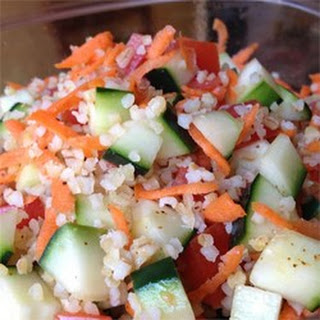 Colorful Bulgur Salad.
