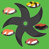 Shuriken Sushi Blocks