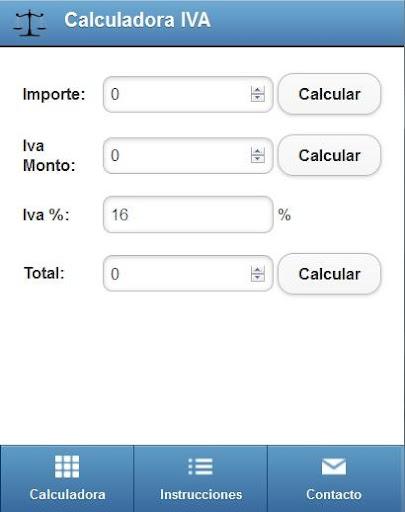 Calculadora IVA Mexico