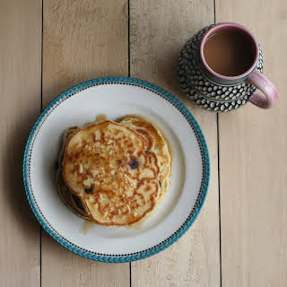 Honey Date Pancakes.