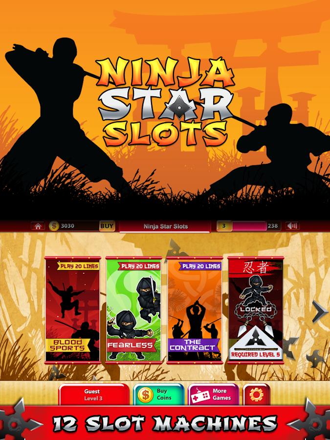 Ninja star slots
