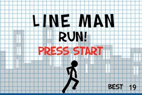 Line Man Run