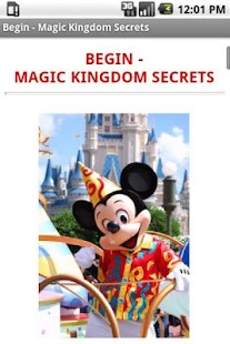 Disney World Secrets Gold! - screenshot thumbnail