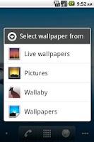 Screenshot of Wallaby