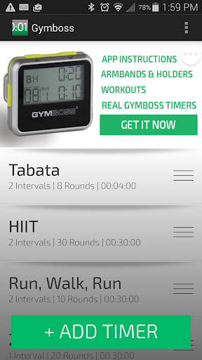 【免費健康App】Gymboss Interval Timer-APP點子