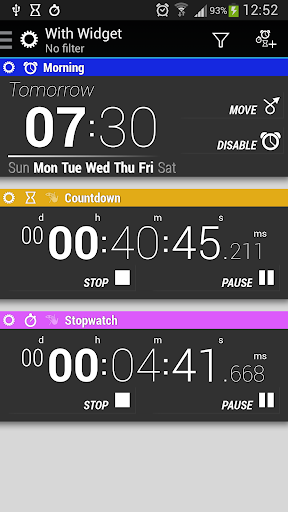 Timers and Widgets