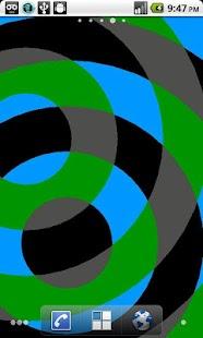 Interfering Circles LWP- screenshot thumbnail