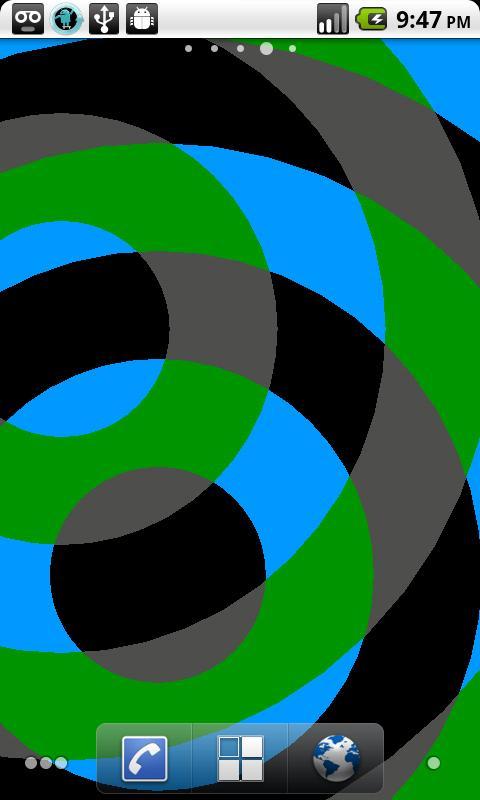 Interfering Circles LWP- screenshot