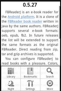 Ebook Reader- screenshot thumbnail