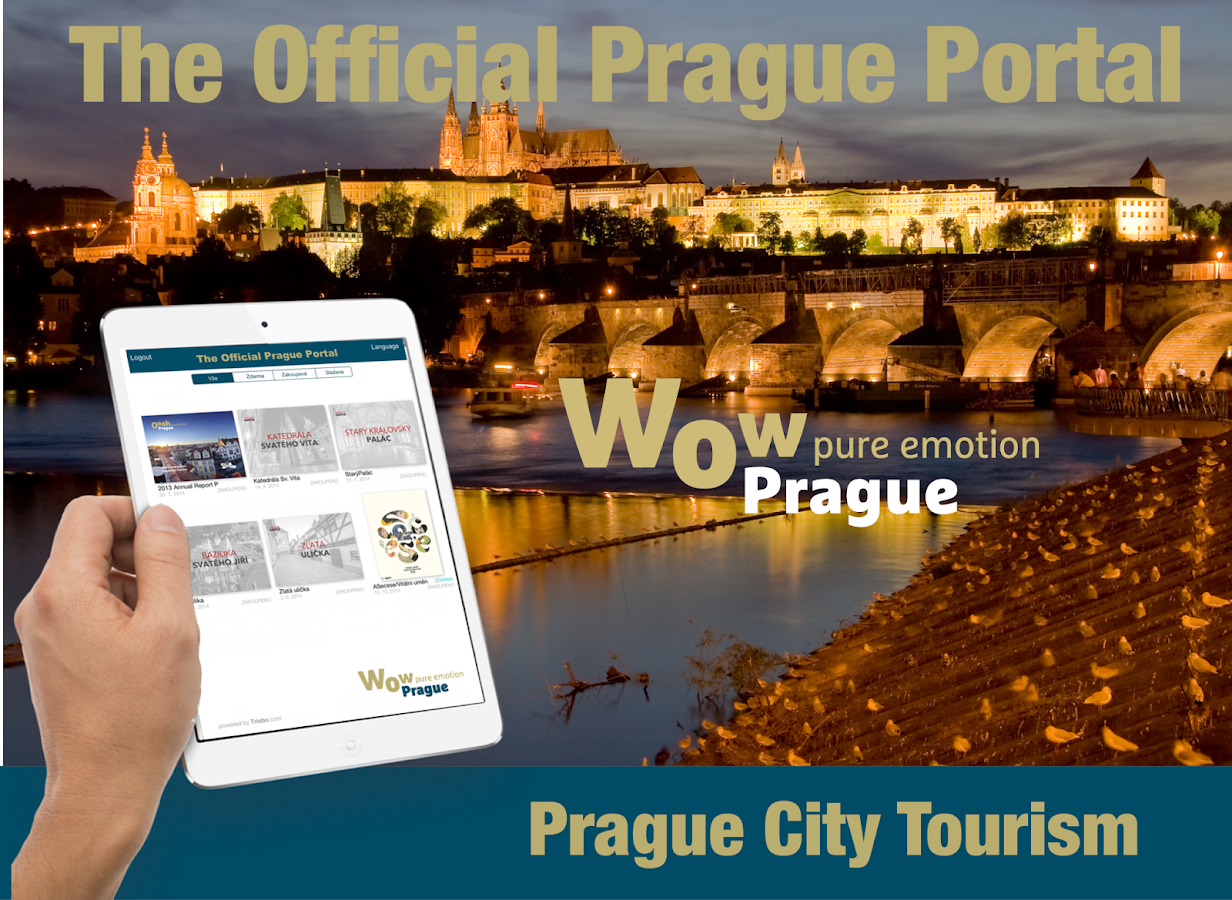 Official Prague Portal- screenshot