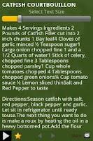 Screenshot of Cajun Recipes Cookbook
