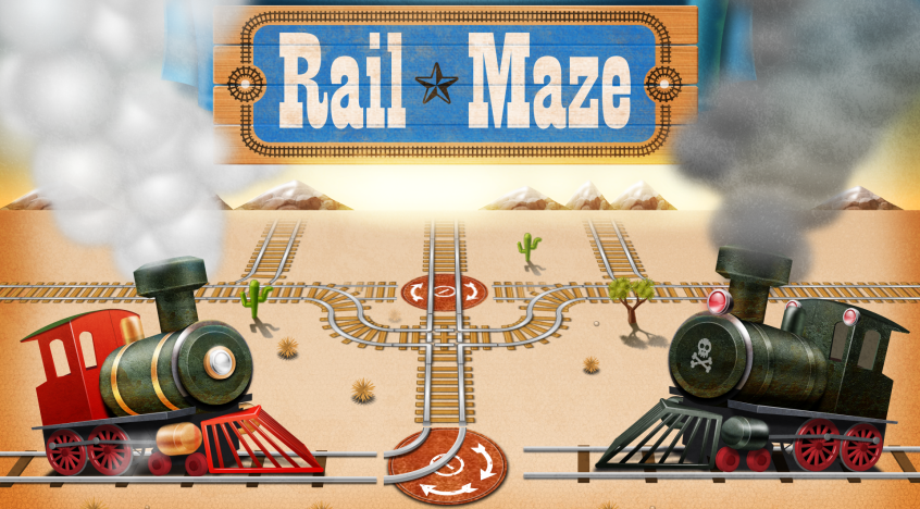 Rail Maze - screenshot