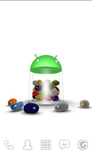 3D Jelly Bean Live Wallpaper - screenshot thumbnail