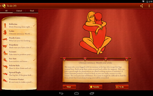 iKamasutra® Lite Sex Positions - screenshot thumbnail