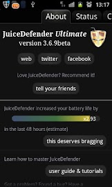 JuiceDefender - battery saver Screenshot 2