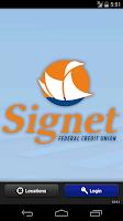 Screenshot of Signet Federal Credit Union