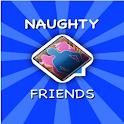 NaughtyFriends logo