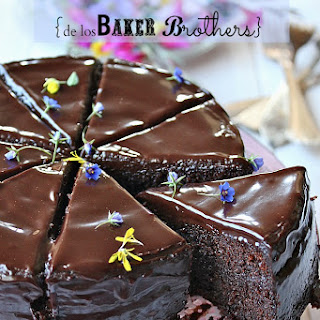 Bakers Brothers' Chocolate Cake.