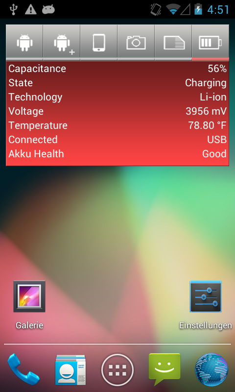 SystemInfo-Widget- screenshot