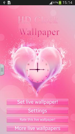 HD Clock Wallpaper