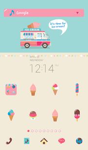ice cream truck 도돌런처 테마