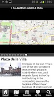 Screenshot of Official Madrid Guide