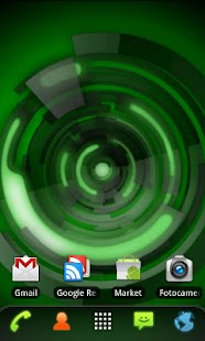 RLW Theme Black Green Tech - screenshot thumbnail