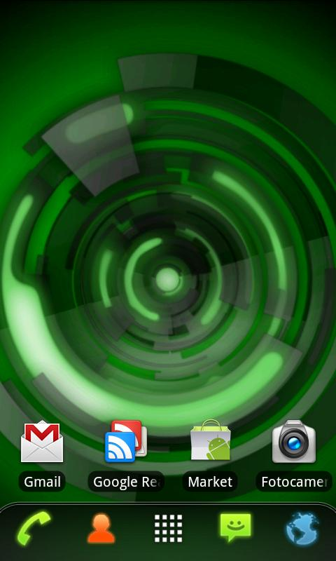 RLW Theme Black Green Tech- screenshot