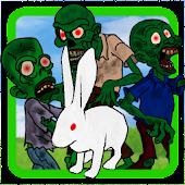 Rabbit zombie run