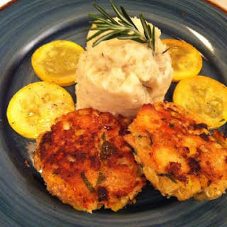 Fall In Love Crab Cakes.
