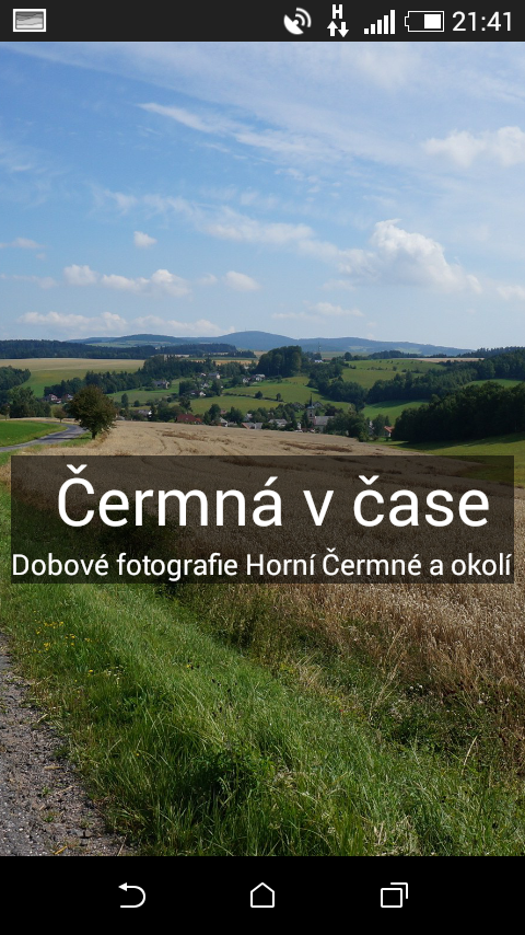 Čermná v čase- screenshot