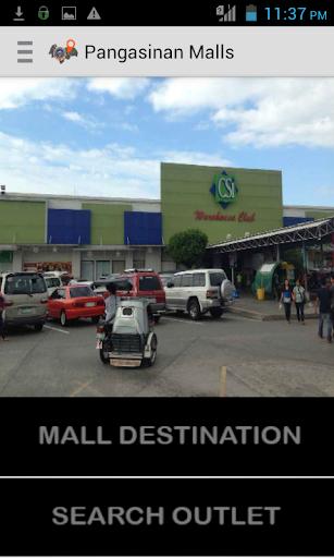 Pangasinan Mall Map Directory