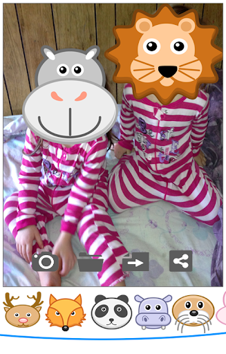 Animals Faces Stickers Camera