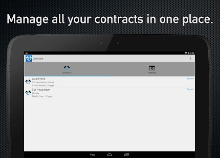 Contracts and Subscriptions- screenshot thumbnail