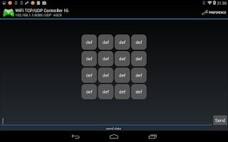 Screenshot of WiFi TCP/UDP Controller 16