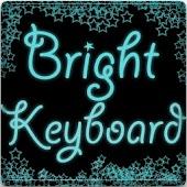 Bright Blue Keyboard Skin