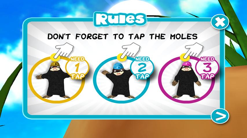 Fruit Mole Tap - screenshot