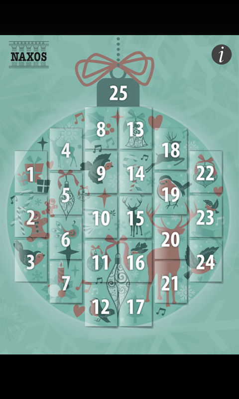 Musical Advent Calendar - screenshot