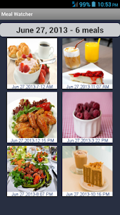 Meal Watcher - Your meal board - screenshot thumbnail