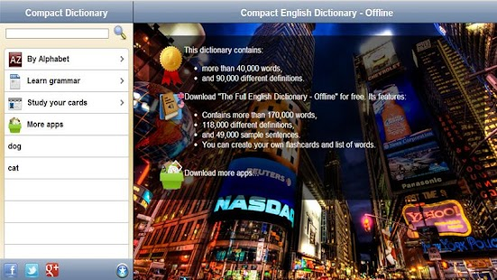 Compact Dictionary - Offline