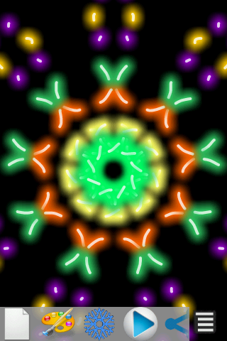 Kaleidoscope Magic Paint - screenshot